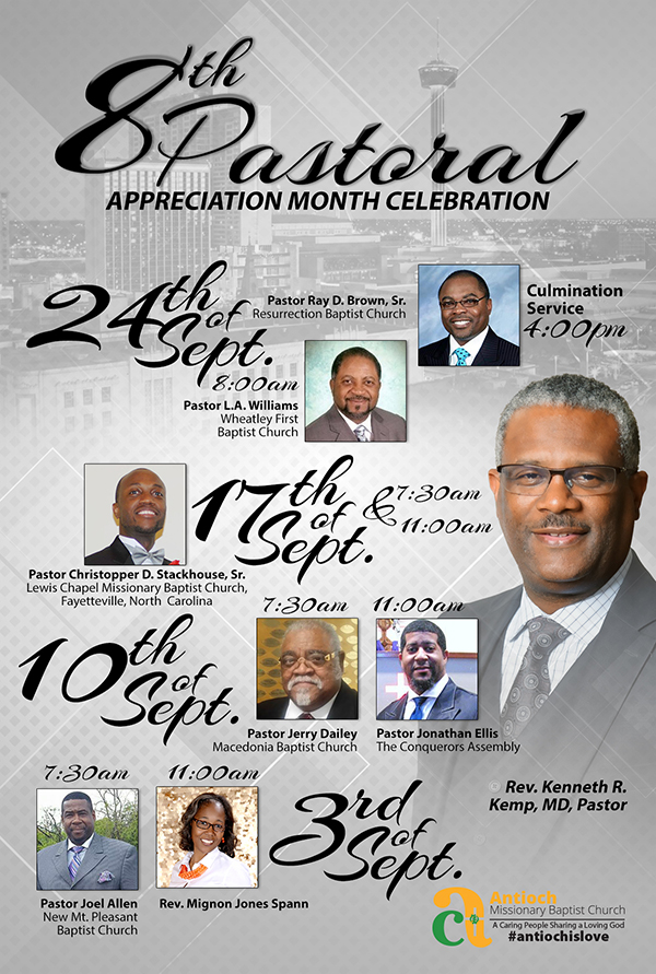 Antioch missionary baptist church 8th pastoral appreciation month 8th pastoral appreciation month publicscrutiny Gallery